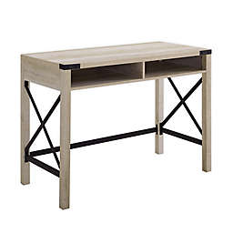 Forest Gate™ Englewood 42-Inch Desk in White Oak