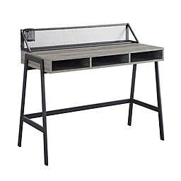 Forest Gate™ Wheatland Writing Desk in Slate Grey