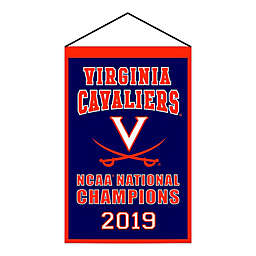 University of Virginia NCAA Champions Banner