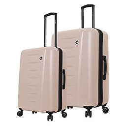 Mia Toro ITALY Parma Hardside Spinner Checked Luggage