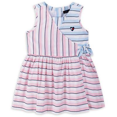 tommy hilfiger blue striped dress