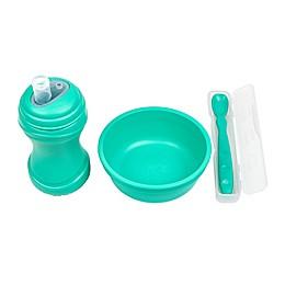 Re-Play® 4 Piece Solids 4 Piece Child Dinnerware Set