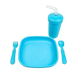 Re-Play® 4 Piece Solids Toddler Tableware Set