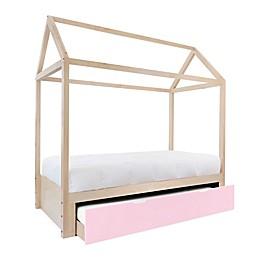 Nico & Yeye Domo Zen Full Canopy Bed with Trundle
