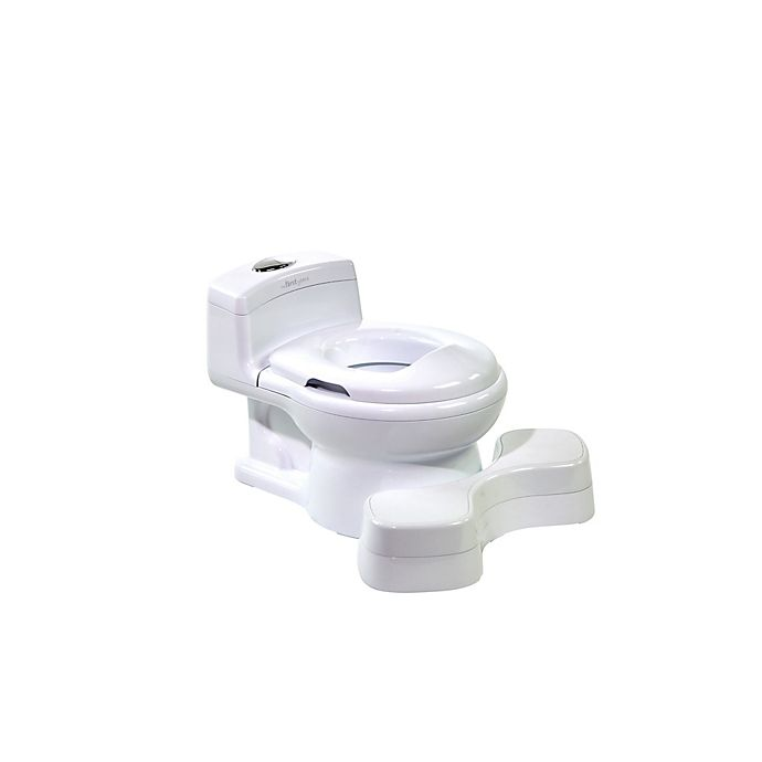 Alternate image 1 for The First Years™ Super Pooper™ Plus Potty Training Seat in White