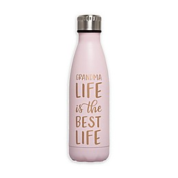Pearhead® 16 oz. Grandma Life Water Bottle in Pink