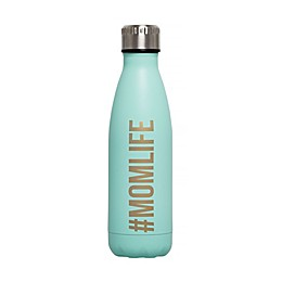 Pearhead® 16 oz. #MomLife Water Bottle in Mint