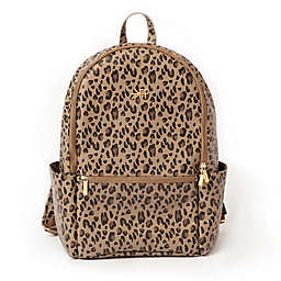 Freshly Picked Classic City Diaper Backpack in Leopard