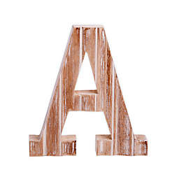 "Bee & Willow™ Home Monogram Letter ""A"" Wall Art"