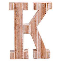 "Bee & Willow™ Home Monogram Letter ""K"" Wall Art"