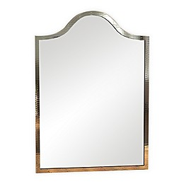 Hammered Thin Profile 20.75-Inch x 30.5-Inch Mirror in Copper