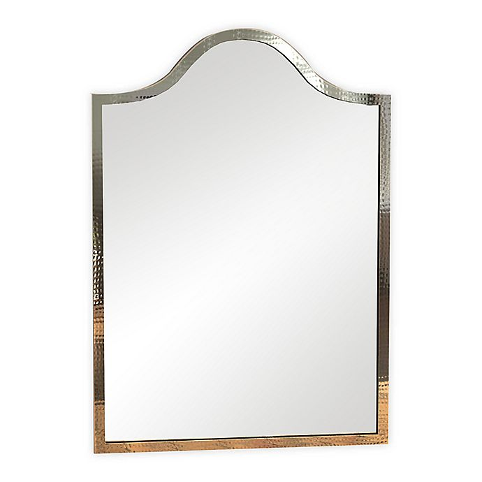 Alternate image 1 for Hammered Thin Profile 20.75-Inch x 30.5-Inch Mirror in Copper