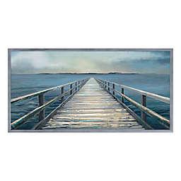 Coastal Horizon Panel II 59-Inch x 30-Inch Framed Wall Art