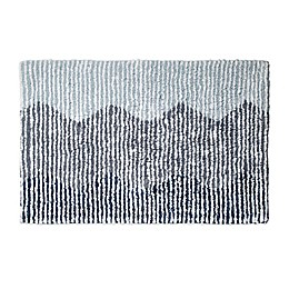 DKNY Brushstroke Ombre Bath Rug Collection