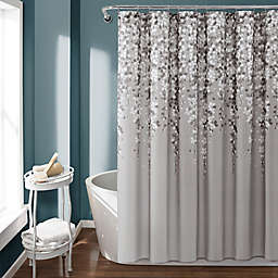 Lush Decor Shower Curtain in Gray