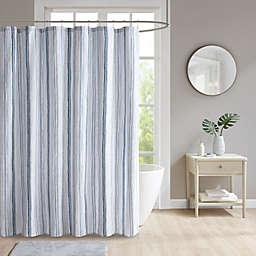 Lara JLA 72-Inch x 72-Inch Shower Curtain in Blue