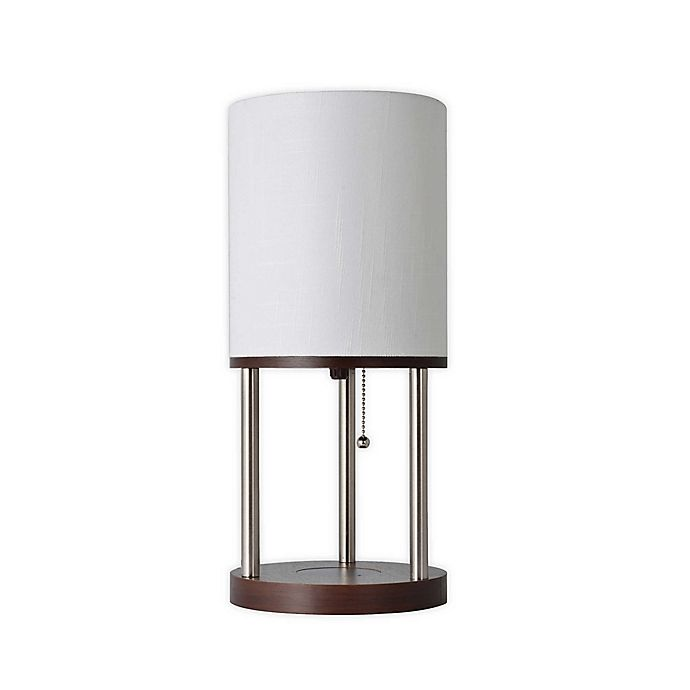 Alternate image 1 for Adesso Qi Shelf Charging Table Lamp
