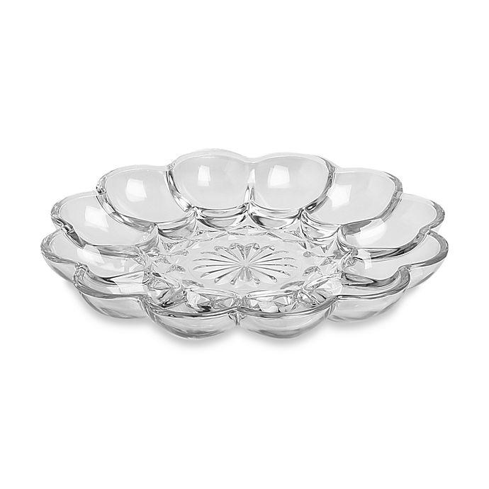 Alternate image 1 for Anchor Hocking® 9.75-Inch Egg Plate