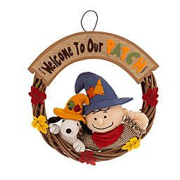Peanuts™ 15-Inch Autumn Wreath