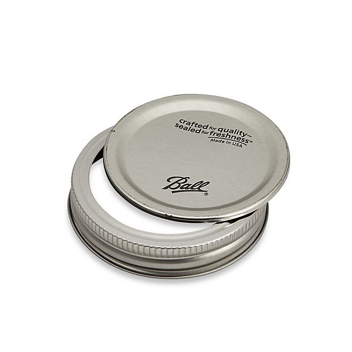 Alternate image 1 for Ball® Regular Mouth 12-Pack Jar Lids with Bands