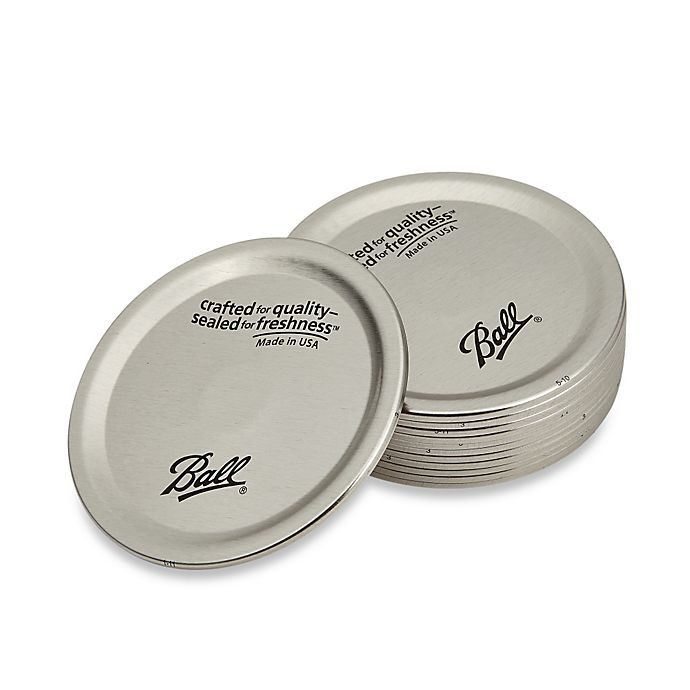 Alternate image 1 for Ball® Wide Mouth 12-Pack Jar Lids