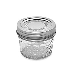 Ball® Crystal Quilted 12-Pack 4 oz. Glass Canning Jars