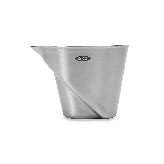 Alternate image 1 for OXO Good Grips® Stainless Steel Mini Angled Measuring Cup