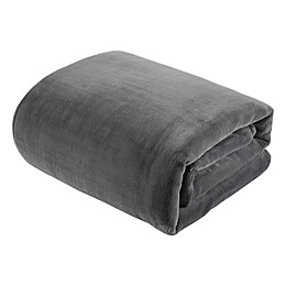 Therapedic® 10 lb. Plush Sherpa Weighted Blanket in Grey