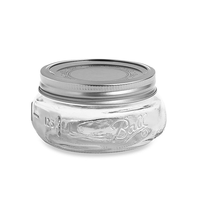 Alternate image 1 for Ball® Collection Elite® Half-Pint Wide-Mouth Jars (Set of 4)