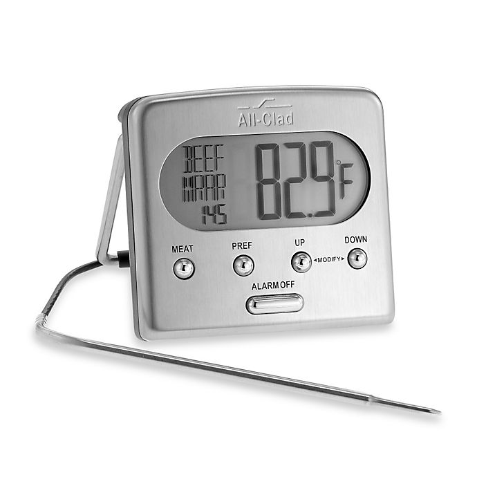 Alternate image 1 for All-Clad Digital Oven Probe Cooking Thermometer