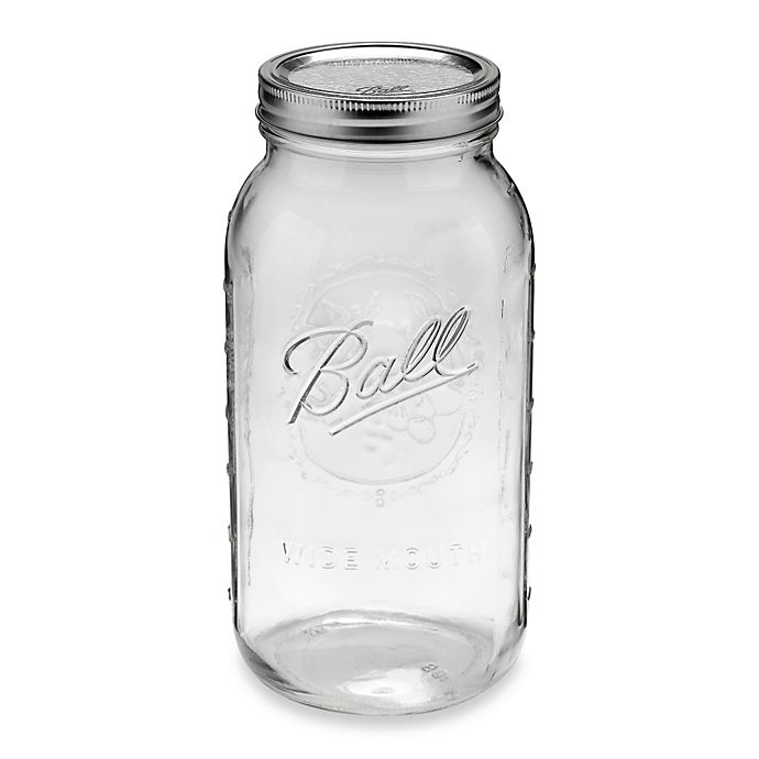 Alternate image 1 for Ball® Wide Mouth 6-Pack 0.5-Gallon Glass Canning Jars