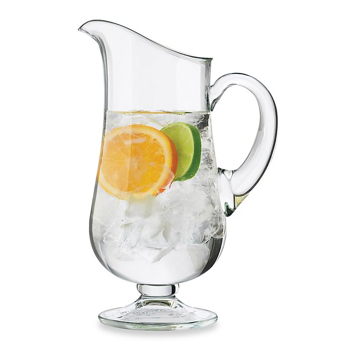 Alternate image 1 for Dailyware™ Glass 76-Ounce Footed Pitcher