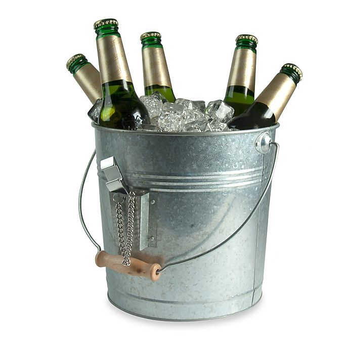 Alternate image 1 for Artland® Oasis Galvanized Steel Beverage Pail