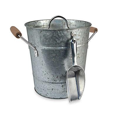 Artland® Oasis Galvanized Steel Ice Bucket with Scoop