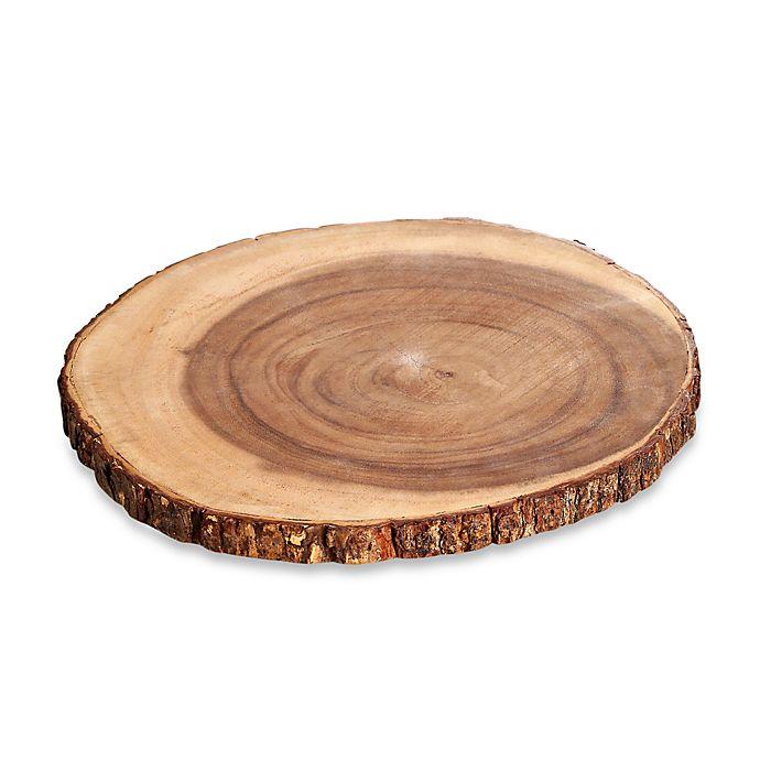 Alternate image 1 for B. Smith® Acacia Large Wood Server