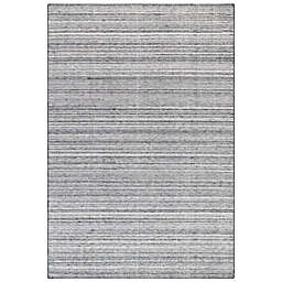 Liora Manné Dakota Stripe 7'6 x 9'6 Indoor/Outdoor Area Rug in Grey