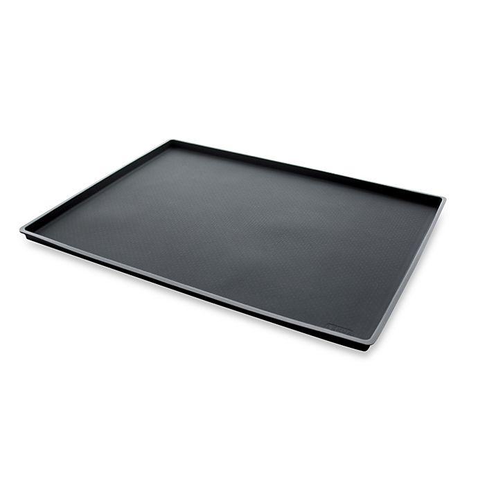 Alternate image 1 for Lékué 12 x 16-Inch Non-Spill Baking Sheet in Black