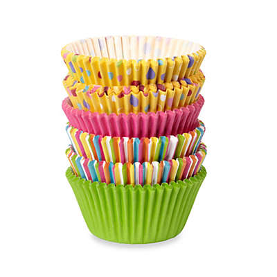 Wilton® Sweet Dots and Stripes Standard Baking Cups