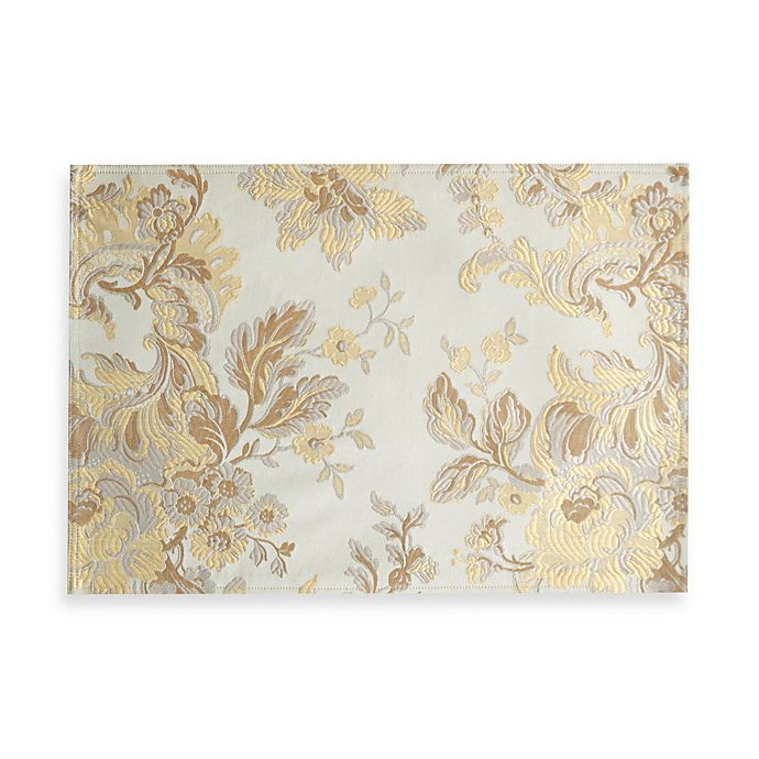 Alternate image 1 for Waterford® Linens Marcelle Placemat in Ivory