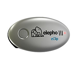 Elepho® eClip Baby Reminder Car Seat Alarm in Silver