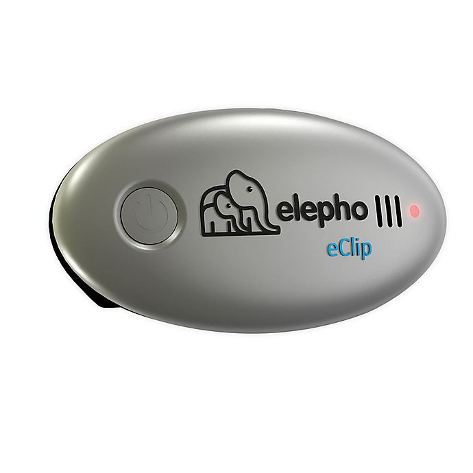 Alternate image 1 for Elepho® eClip Baby Reminder Car Seat Alarm in Silver