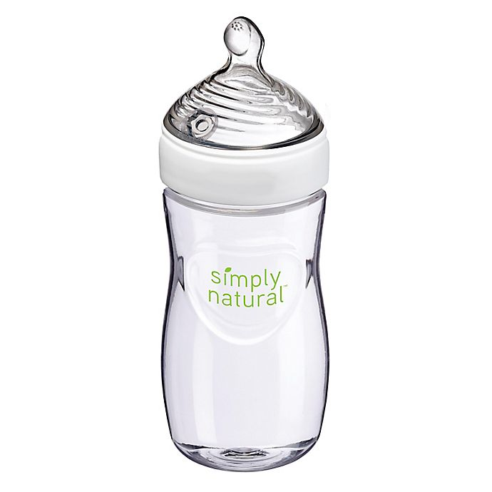 Alternate image 1 for NUK Simply Natural Baby Bottle, 9 oz