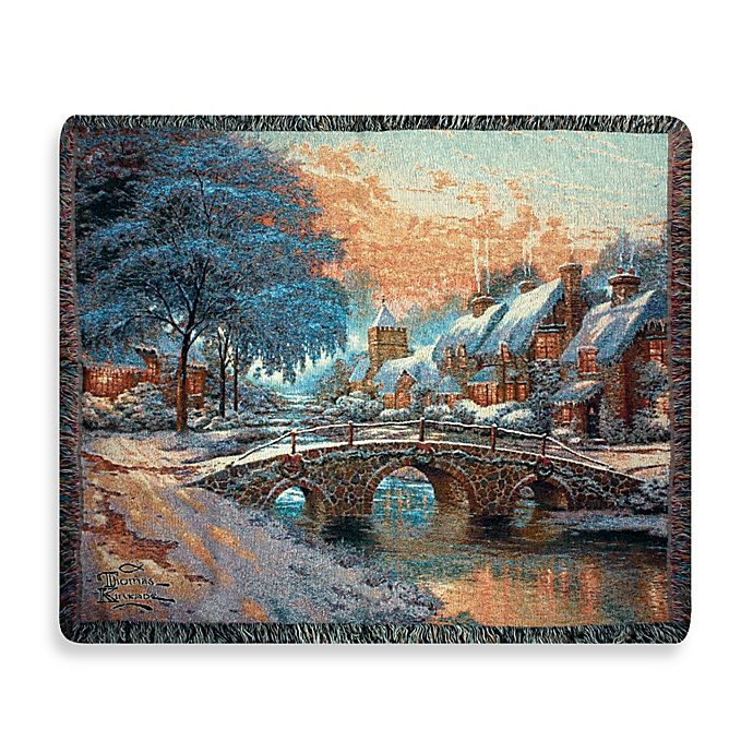 Alternate image 1 for Holiday Cobblestone Christmas Throw Blanket