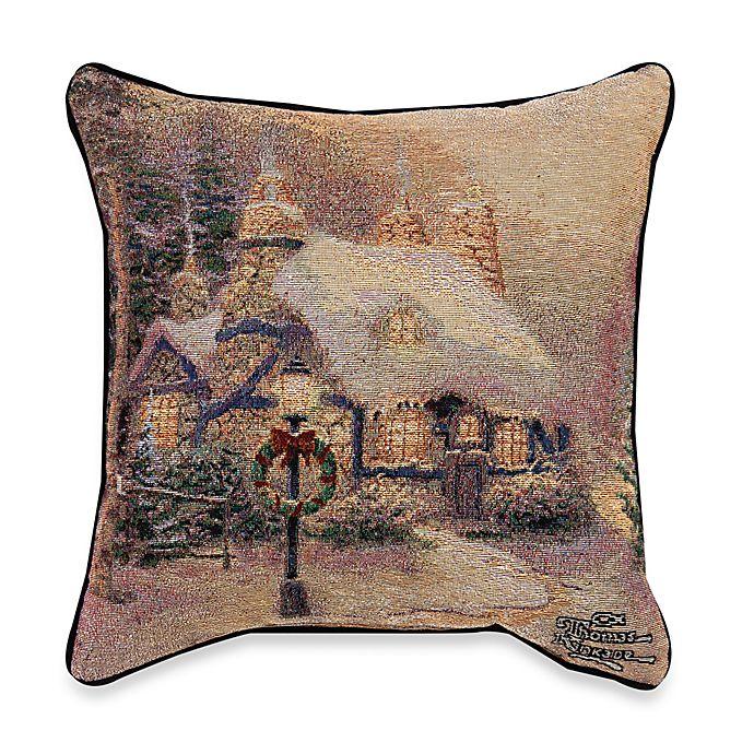 Alternate image 1 for Thomas Kinkade Stonehearth Hutch Pillow