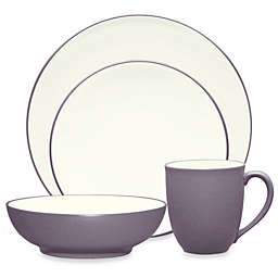 Noritake® Colorwave Coupe 4-Piece Place Setting in Plum