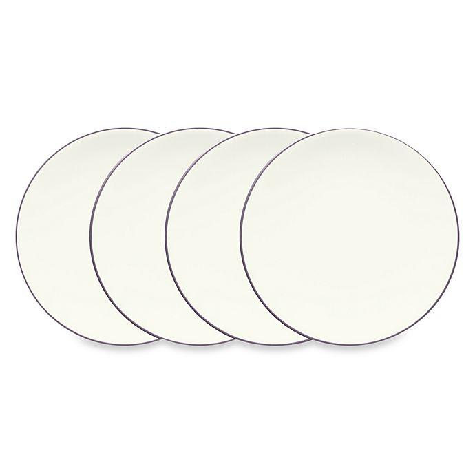 Alternate image 1 for Noritake® Colorwave Mini Plates in Plum (Set of 4)