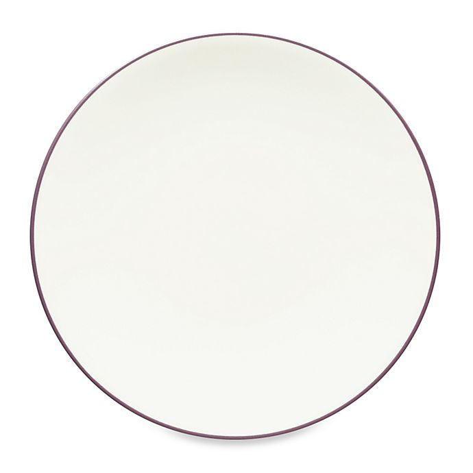 Alternate image 1 for Noritake® Colorwave Coupe Dinner Plate in Plum