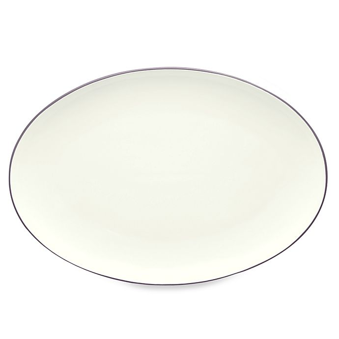 Alternate image 1 for Noritake® Colorwave 16-Inch Oval Platter in Plum