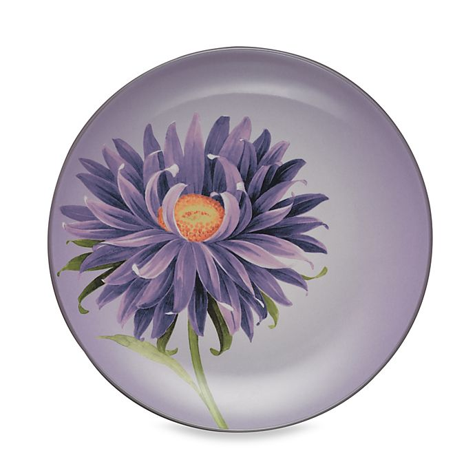 Alternate image 1 for Noritake® Colorwave Floral Accent Plate in Plum