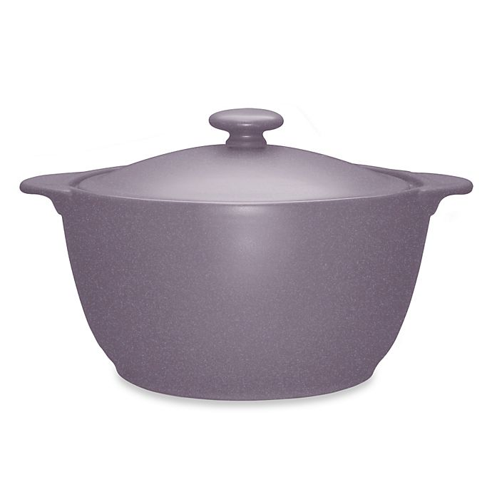 Alternate image 1 for Noritake® Colorwave Covered Casserole Dish in Plum